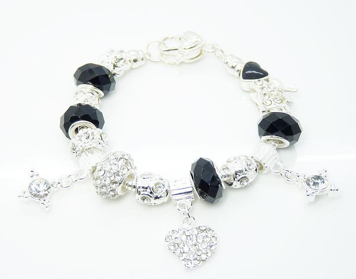 Браслет с брелоками Silver Charm 43,   925 Bracelet браслет цепь oem lx ah211 925 925 aigaizna buraklya bracelet
