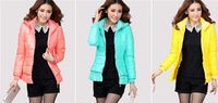2014 New Warm Winter Short Design Women's Down Cotton Coat Outerwear