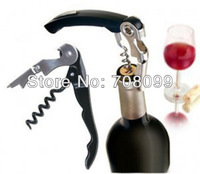 FedEx Free Shipping  Wholesales  1000pcs/lot  2 in1 Waiter's Wine Opener Wine Corkscrew Opener  Sea horse Corkscrews Knife
