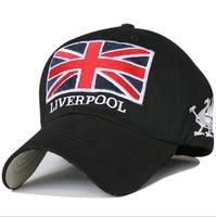 2014 England football baseball cap sport male hat spring female cap athletes hat 8color 1pcs free shipping
