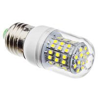 Free shipping 5pcs / a lot lampada led e27 220V 10w Epistar smd 3528 60pcs corn led light bulb warm / white light