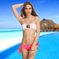 New Arrival 2014  Women original Bikini  Fashion Rhinestone victoria  swimwear  brand swimsuit  Beach wear