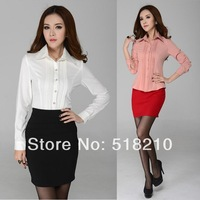 New Plus Size XXL Spring Summer Women Suits with Skirt for Office Ladies Business Suits Professional Work Wear Shirt Suits