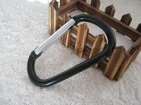 Assorted 10pcs/lot 120mm Big Carabiner Durable Climbing Hook Aluminum Camping Accessory Fit Outdoor sportRoller skating hook