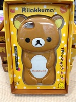 3D Rilakkuma Hard Plastic Case Cover for Apple iPhone 5/5S with Retail Package DHL Free Shipping 100pcs