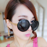 2014 new tassel sunglasses Women retro round sunglasses Lantern Sunglasses Fashion large frame sunglasses