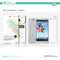 Genuine Brand Nillkin Anti - fingerprint screen protector come with retail package for ZTE Grand Memo II LTE M901