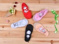 Women flats ballet dance shoes practice shoes soft bottom yoga shoe Free shipping