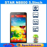 Star N8800 Phone With MTK6592 Android 4.2 Octa Core 1GB 8GB 3G GPS Gesture Sensing 5.5 Inch Screen SmartPhone