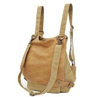 FREE SHIPPING  midou brand  messenger bag vintage travel canvas pu backpack