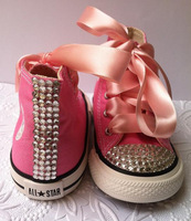 free shipping girl Canvas Shoes Cute Leisure Sports, beautiful fashion style bowknot Children color rhinestone Canvas shoes