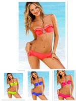 2014 New Style Secret Bandeau Bikini Set Diamond Swimwear Sexy Stones Rhinestone Swimsuit For Women Biquinis Bathing Suit Sale