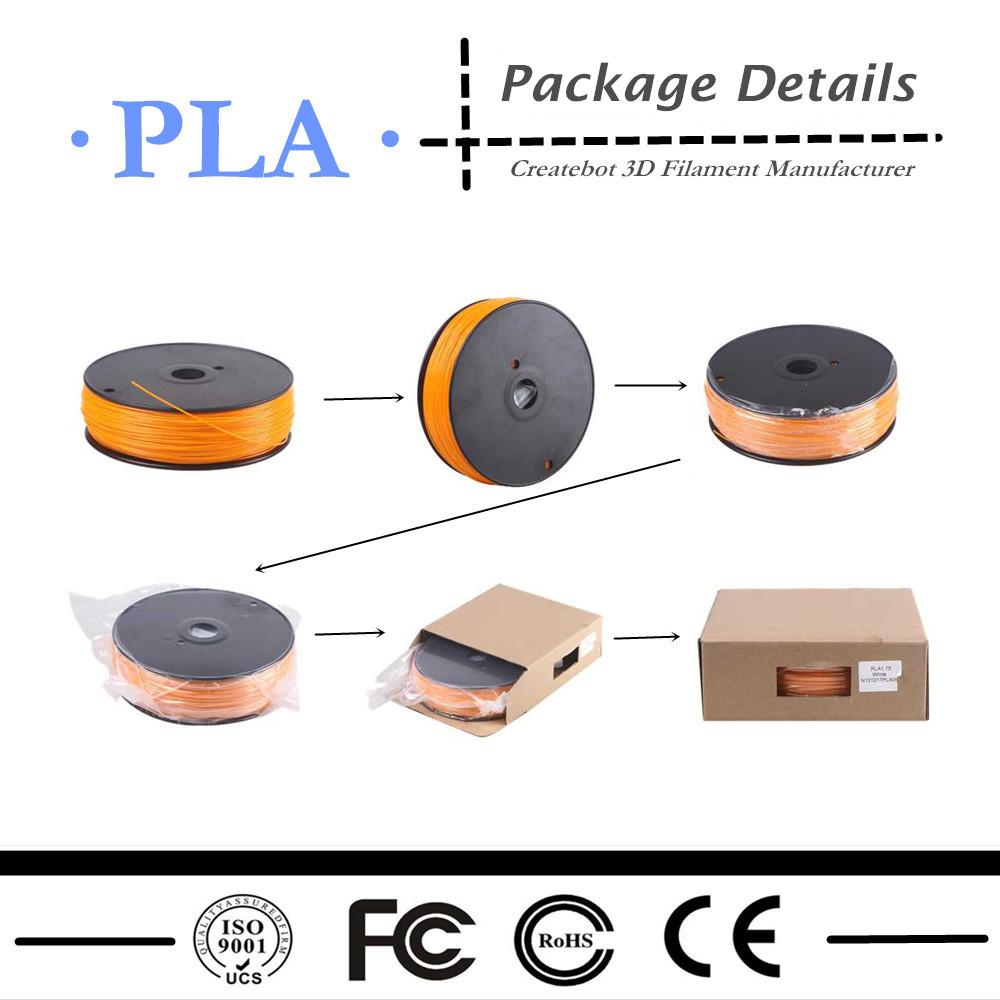 Потребительские товары Green PLA Filament With Vacuum Packages