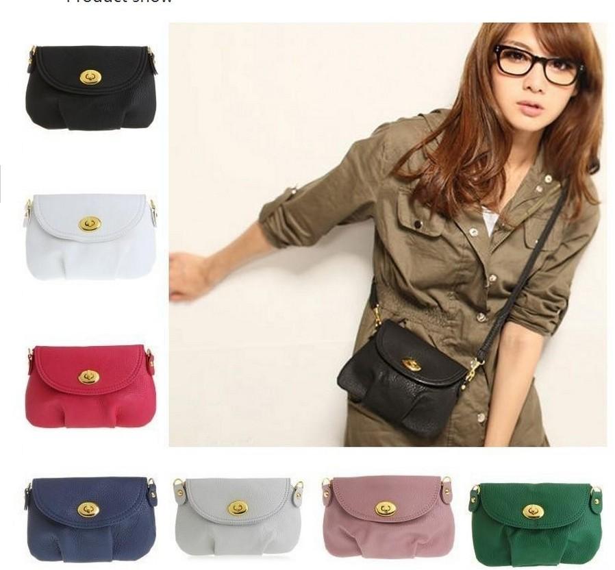 HOT!Promation! Women's Handbag Satchel Shoulder leather Messenger Cross Body Bag Purse Tote Bags(China (Mainland))