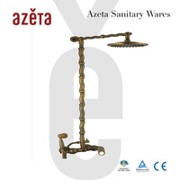 2014 Antique Single Lever Bronze Brass Shower Faucet
