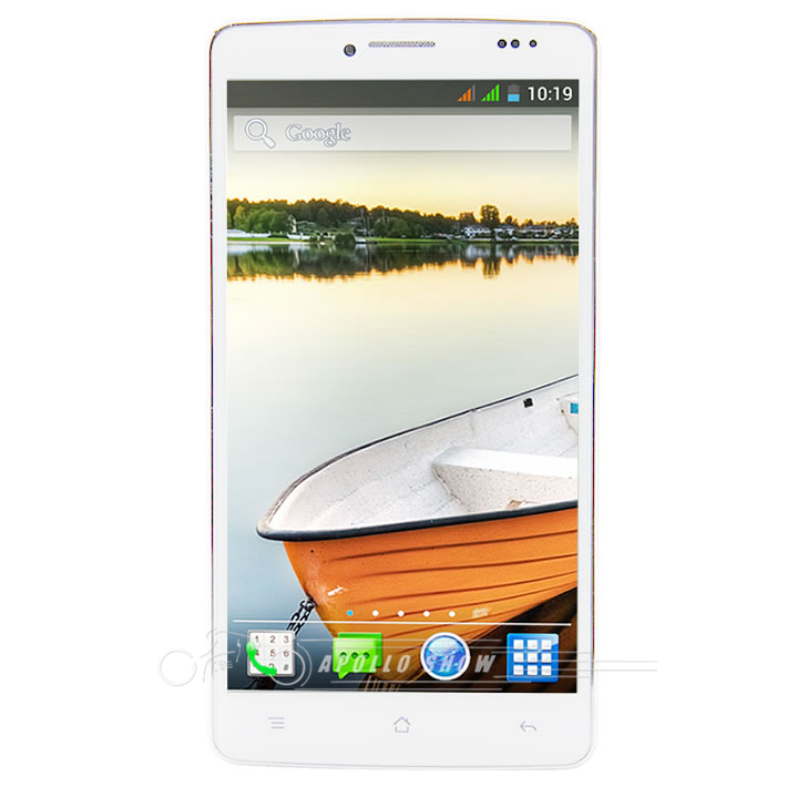 Mpie MP707 5.0 Inch IPS MTK6582 Quad Core SmartPhone Screen 1GB+4GB 8MP Camera Android 4.3 3G Phone GPS WIFI Air Gesture White(China (Mainland))