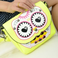 2013 women's handbag mini owl print bag small shoulder bag cross-body bag women's bags
