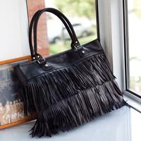 2014 European and American fashion new portable shoulder bag casual fashion female Su