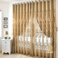 Cloth modern fashion cutout curtain quality jacquard flower screens luxury