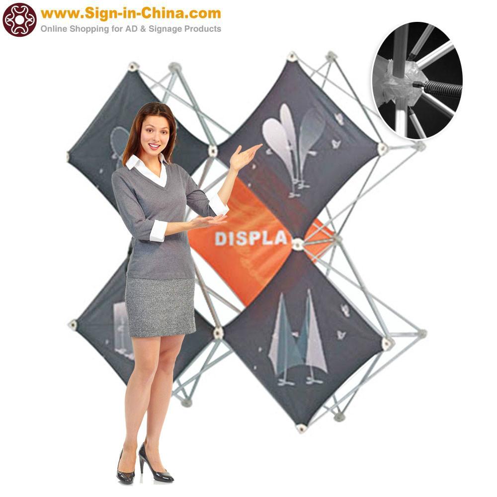 100% buyer protection X Shape Pop Up Display(China (Mainland))