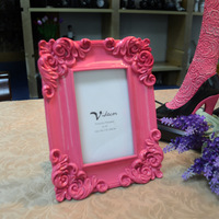 Home decor 6 inch photo frame Vintage home decoration Homes decorator White, Pink, Black, Blue