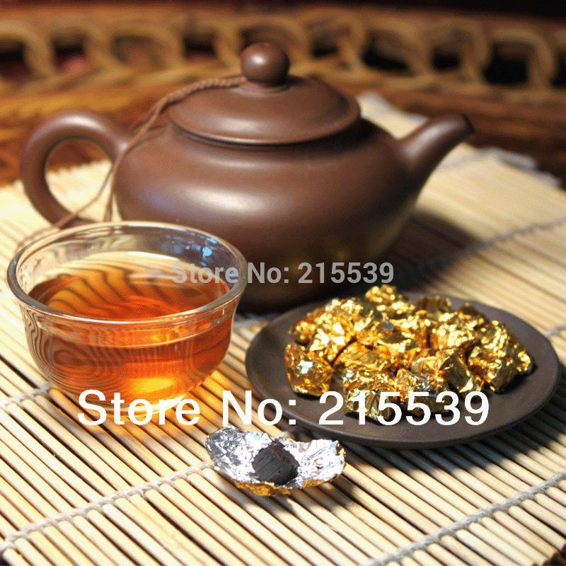 GRANDNESS 2006 Ecological Extract Tea Cream Puer Ripe Tea Shu Cha Puerh Cha Gao Chagao