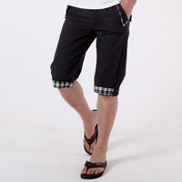 2013 knee-length casual pants casual pants shorts male shorts men's clothing capris male casual shorts
