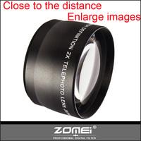 Zomei HD 58MM 2X TELE telephoto Converter Lens For Canon EOS 6D 650D 600D 550D 1100D 400D 450D 500D 1000D EOS 700D 100D