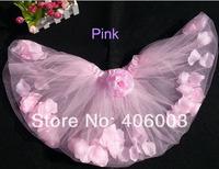 Wholesale  Baby Girls Party Skirts Princess Petal  Pettiskirt  Summer Tutus