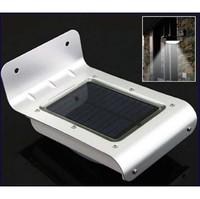 10pcs Solar Powered Lamp Energy saving Outdoor 16 LED Wall Garden Yard Street   Ray and Sound sensor activated  lightLight
