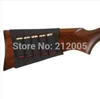 1x Allen hunting Shotgun Rifle 5 Shells Butt Stock Shell Cartridge Holder Shotshell Ammunition Carrier 5  Elastic fabric