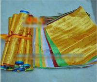 High Quality Big Size Silk Prayer Flag 8 Meters Long 20 piece of flags 37cm*43cm Silk Flag Silk Banner