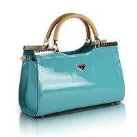 Fashion quality bright color japanned leather bag bridal bag 2014 women bag elegant handbags vintage ladies bag female