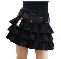 The spring of 2014 women's fashion short miniskirt pleated skirt bitter fleabane bitter fleabane skirt free shipping
