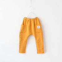 Children's clothing male child trousers spring and autumn child trousers baby casual harem pants hanging crotch pants