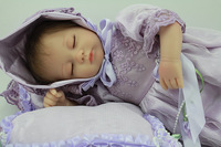 Baby doll  Reborn silicone the soft toys Fashion toys handmade doll