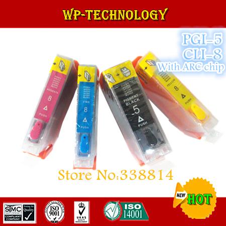 Картридж с чернилами Sky PGI5 CLI8 , /5 cli/8 Canon iP3300, iP4200, iP4300, iP4500, iP5200 . ., 4 ,  -5-8-1 картридж для принтера colouring cg cli 426c cyan