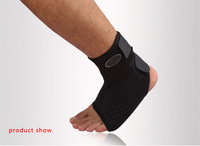 New Sport Medicine Adjustable Ankle Support Brace 3 Size Black Heating Arthritis [TY22]