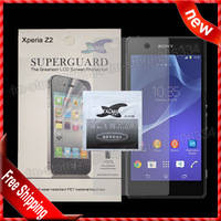 For Xperia Z2 Screen Protector, New High Clear screen protector Film For Sony Xperia Z2 with RP by DHL Shipping
