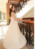 New  Bohemian chiffon beach dress dress seaside holiday  fashion women skrit hot sale free shipping