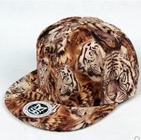 wholesale spring new 2014 fashion animal leopard Snapback cap Hip hop Baseball Cap Snapback hat for men/ women strapback hat