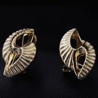 2014Mixed Order Free shipping 18K Gold plated classical National wind pop Hot accessories woman Earrings earpins  Jewelry GE0416