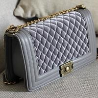 Small sachet le boy leboy velvet women's handbag chain bag