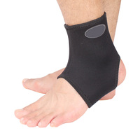 One Piece Double sides Lightness Elastic Ankle Brace Support Heating Badminton [TY25]