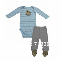 Baby Romper cotton pants two packages  Romper Newborn leg trousers piece pack NB-9M