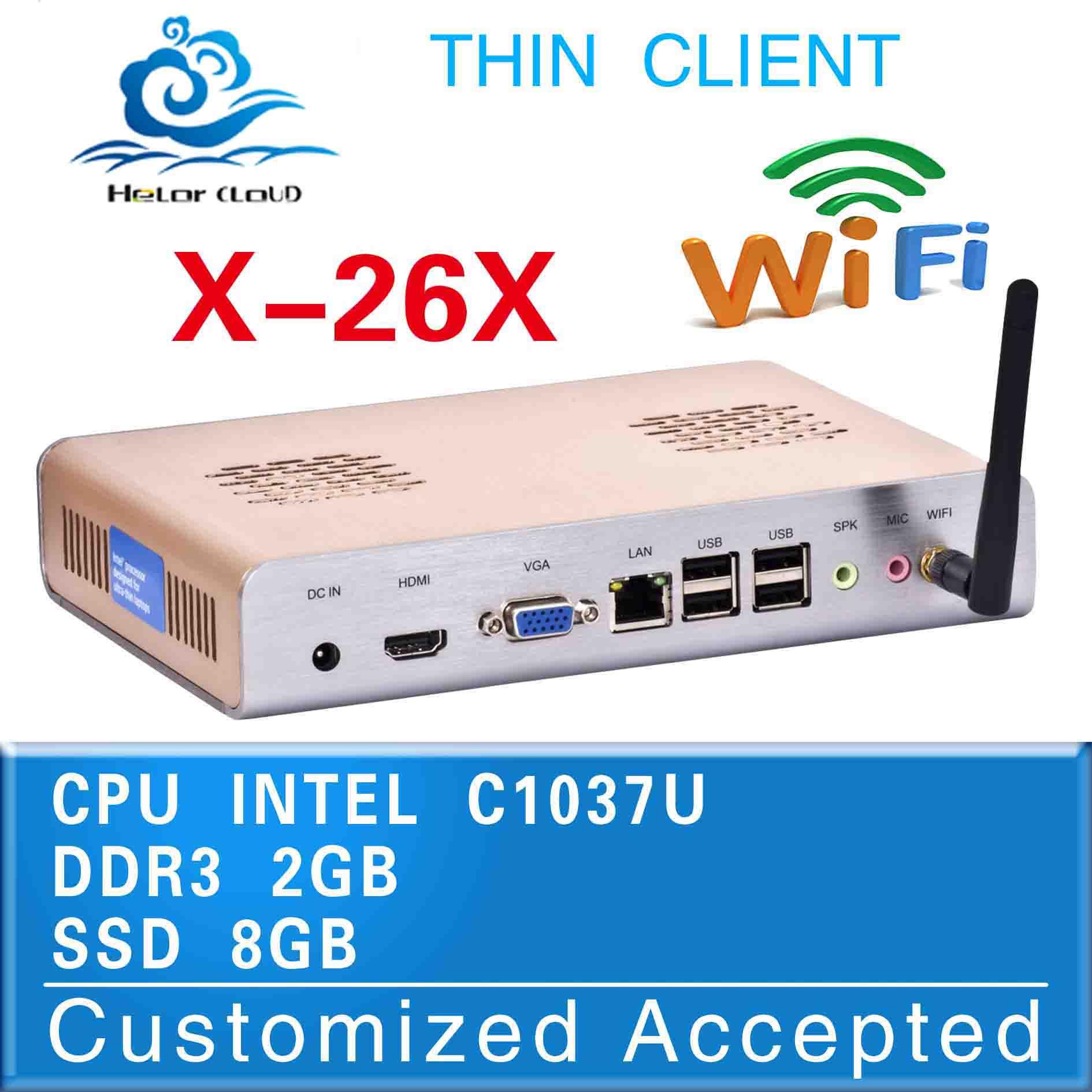 Embedded PC INTEL C1037U (1.8GHZ Frequency) Dual-core ultra small pc mini pc desktop Touchscreen Trackball(China (Mainland))