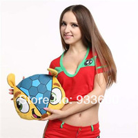 2014 Brazil World Cup Mascot Fuleco 100% Polyester  Plush Cushions Head Type
