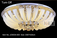 Modern LED crystal ceiling lighting Simply style Palace light Fixture Egypt crystal  Luxury Hotel lamp Guaranteed 100% 9034-600