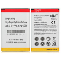 100pcs/Lot 3500mAh Li-ion Rechargeable Battery For Samsung Note 3 III N9000 N9005 N9002