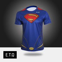 superman NEW 2014 summer fashion mens brand novelty tee t-shirts male short sleeve man casual clothes plus size XXXXL super man